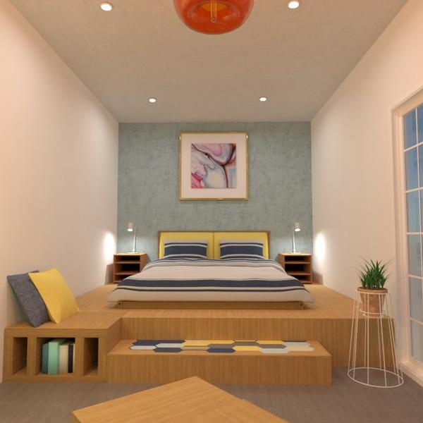 floorplans decor bedroom lighting 3d