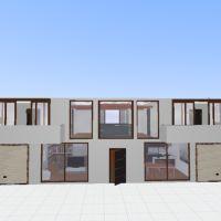 floorplans namas terasa baldai dekoras vonia miegamasis garažas virtuvė apšvietimas prieškambaris 3d