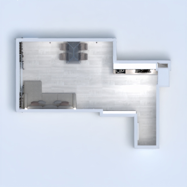 floorplans appartement salon studio 3d