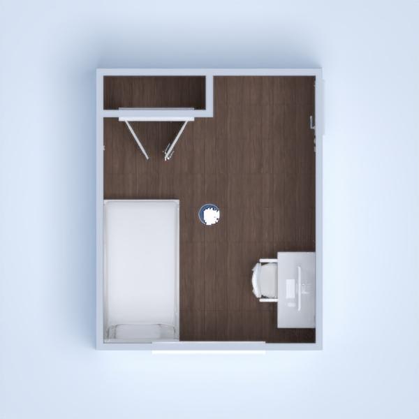 floorplans casa dormitório reforma arquitetura 3d