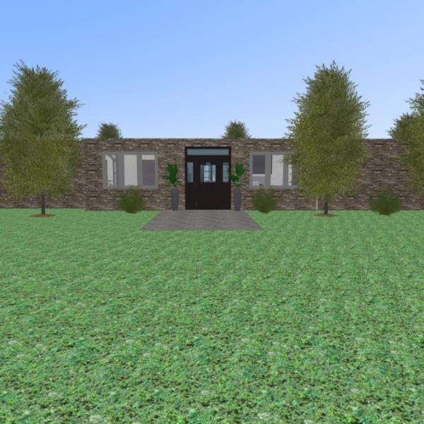 floorplans casa cuarto de baño dormitorio salón cocina 3d