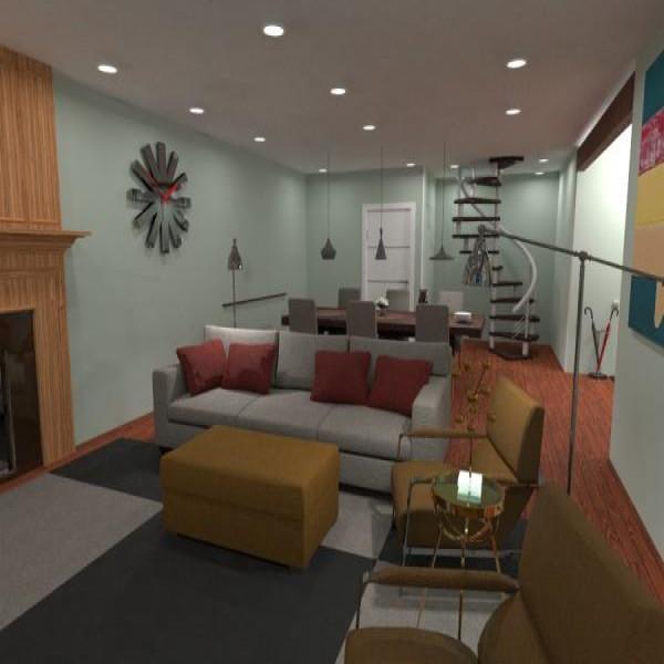 floorplans apartamento casa mobílias reforma utensílios domésticos 3d