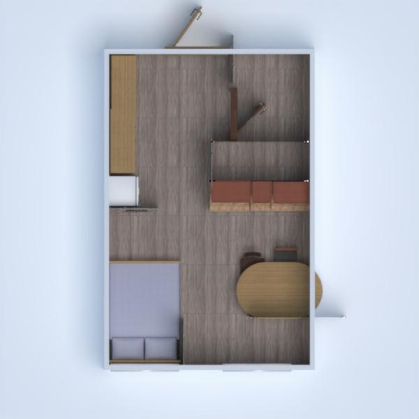 floorplans apartamento cocina 3d