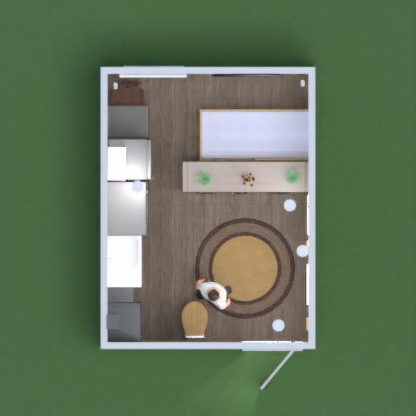 floorplans salle de bains chambre à coucher salon bureau salle à manger 3d