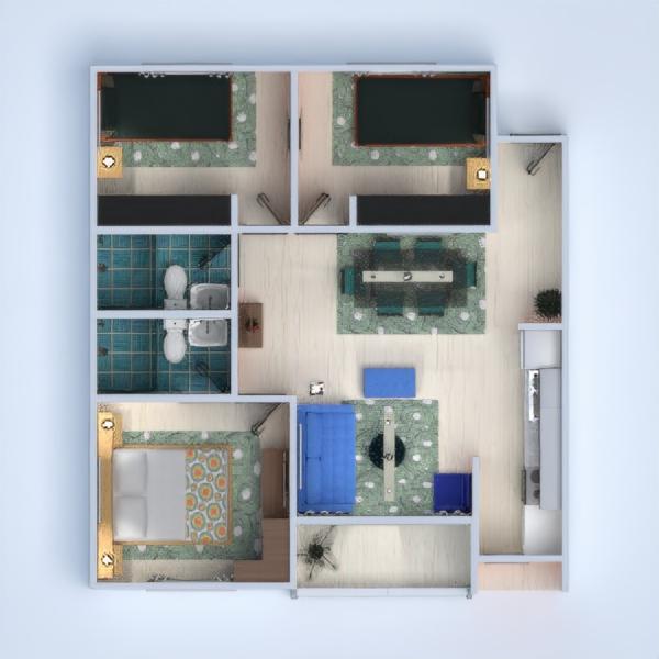 floorplans mieszkanie 3d