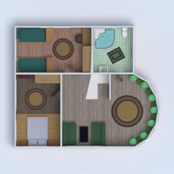 floorplans haus wohnzimmer garage küche outdoor kinderzimmer landschaft 3d