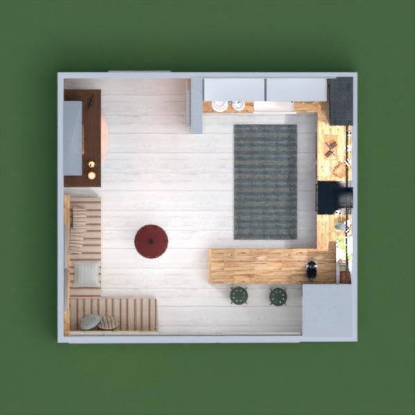floorplans mobiliar küche 3d