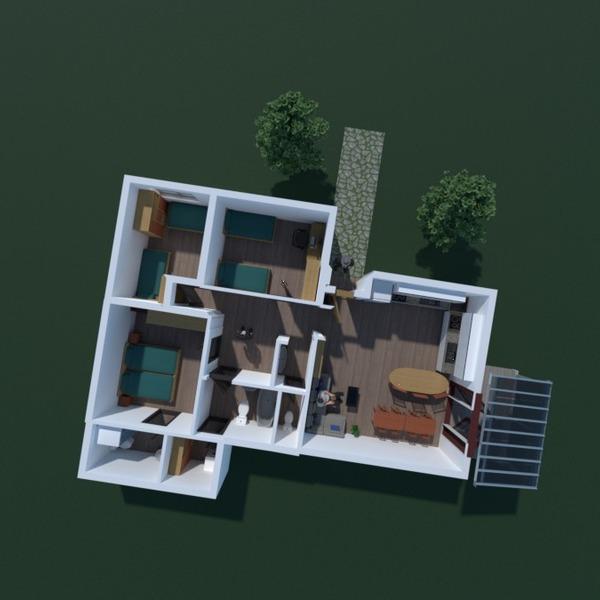 floorplans arredamento bagno camera da letto saggiorno 3d