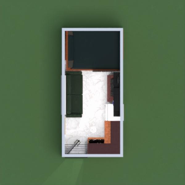 floorplans apartamento casa bricolaje salón cocina 3d