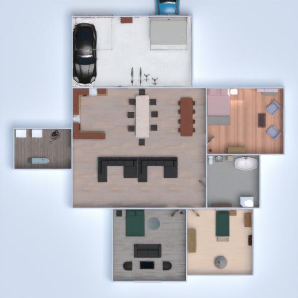 планировки дом спальня гостиная кухня техника для дома 3d