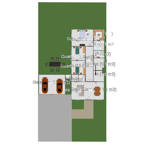 floorplans living room garage dining room architecture storage 3d