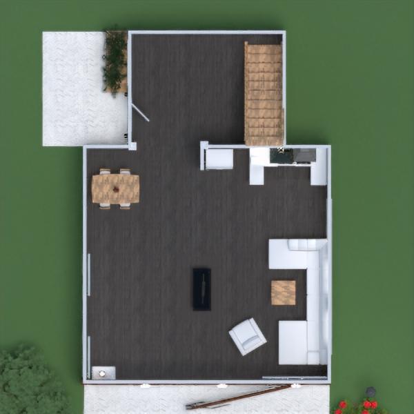 floorplans house terrace furniture renovation architecture 3d