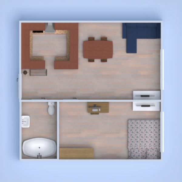 floorplans mieszkanie dom mieszkanie typu studio 3d