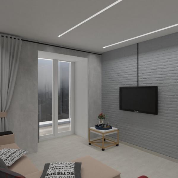 floorplans квартира дом мебель гостиная кухня 3d