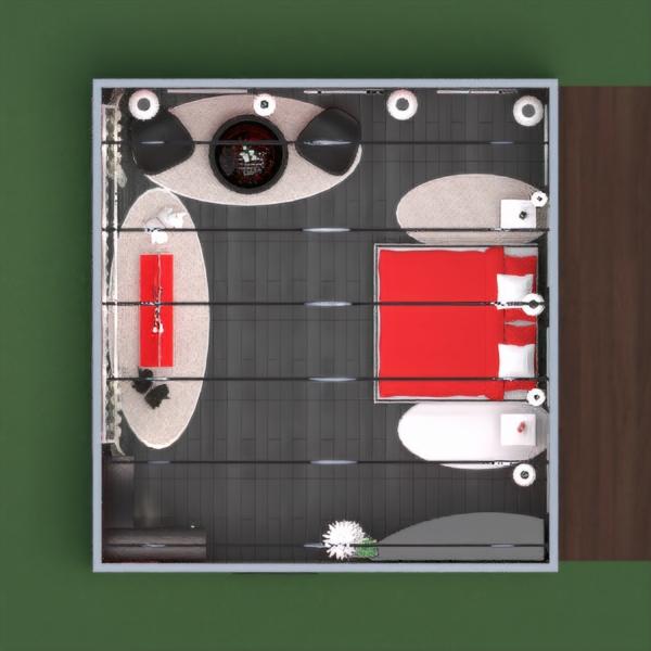 floorplans baldai dekoras pasidaryk pats miegamasis apšvietimas sandėliukas 3d