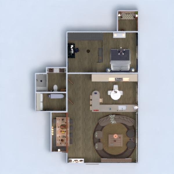 floorplans apartamento mobílias decoração faça você mesmo casa de banho dormitório quarto cozinha escritório iluminação reforma paisagismo utensílios domésticos cafeterias sala de jantar arquitetura despensa estúdio patamar 3d