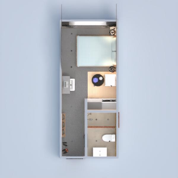 floorplans meubles décoration diy chambre à coucher salon chambre d'enfant bureau eclairage rénovation espace de rangement studio entrée 3d