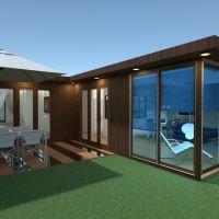 floorplans apartamento casa varanda inferior arquitetura 3d