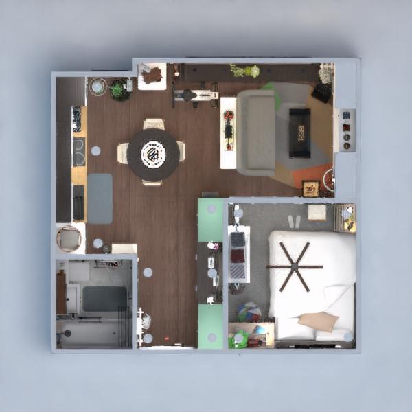 floorplans appartement décoration diy chambre à coucher salon 3d