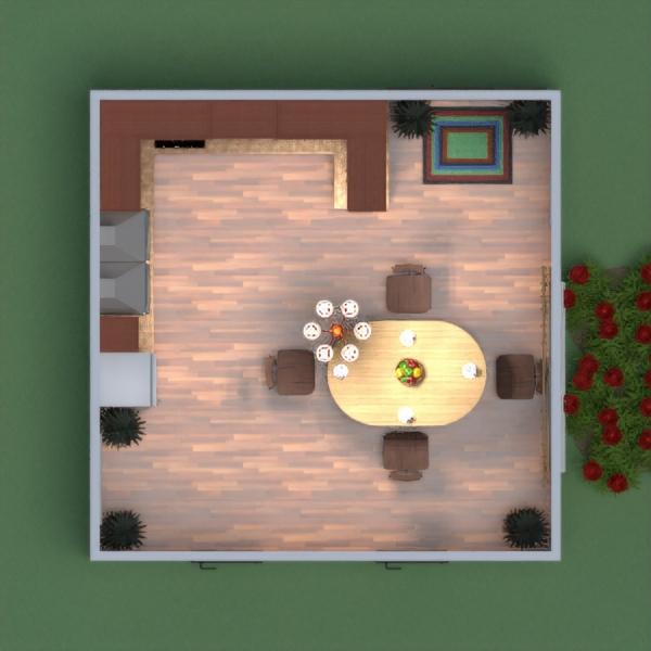 floorplans casa bricolaje cocina reforma comedor 3d