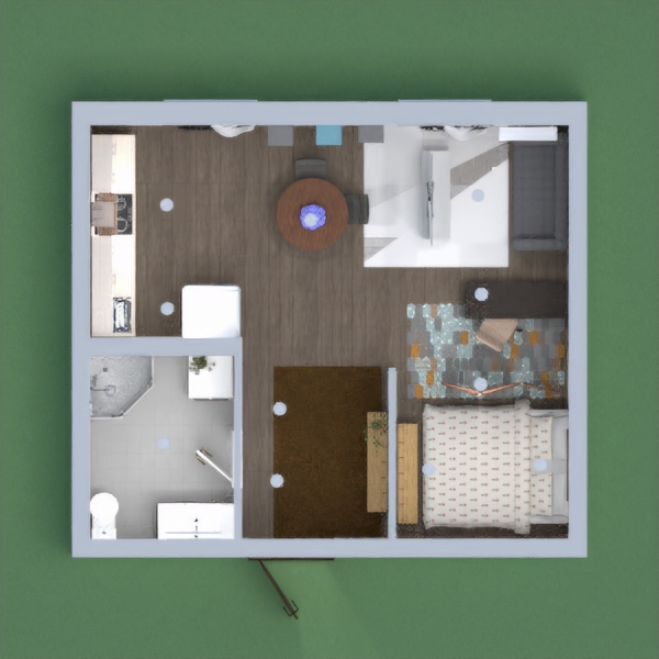 floorplans appartement meubles décoration rénovation studio 3d