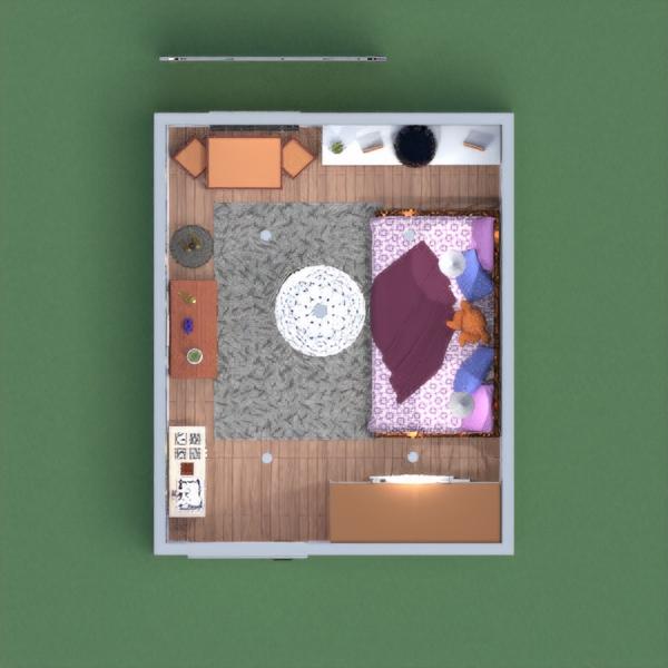 floorplans haus mobiliar dekor kinderzimmer 3d
