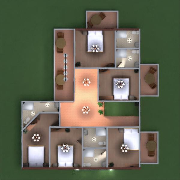 floorplans терраса кухня улица офис освещение ландшафтный дизайн столовая архитектура прихожая 3d