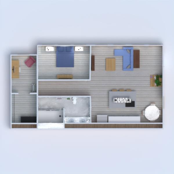 floorplans butas dekoras pasidaryk pats vonia miegamasis biuras apšvietimas 3d
