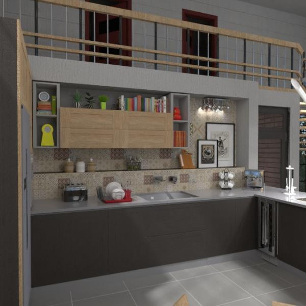 floorplans casa bagno camera da letto saggiorno cucina 3d