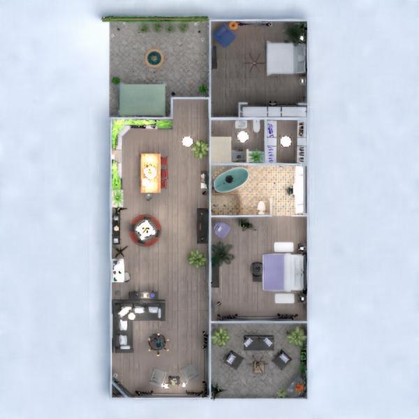 floorplans appartamento veranda arredamento decorazioni bagno camera da letto saggiorno cucina esterno illuminazione famiglia sala pranzo vano scale 3d