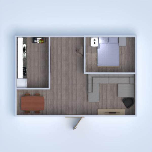 floorplans furniture bedroom living room kitchen dining room 3d