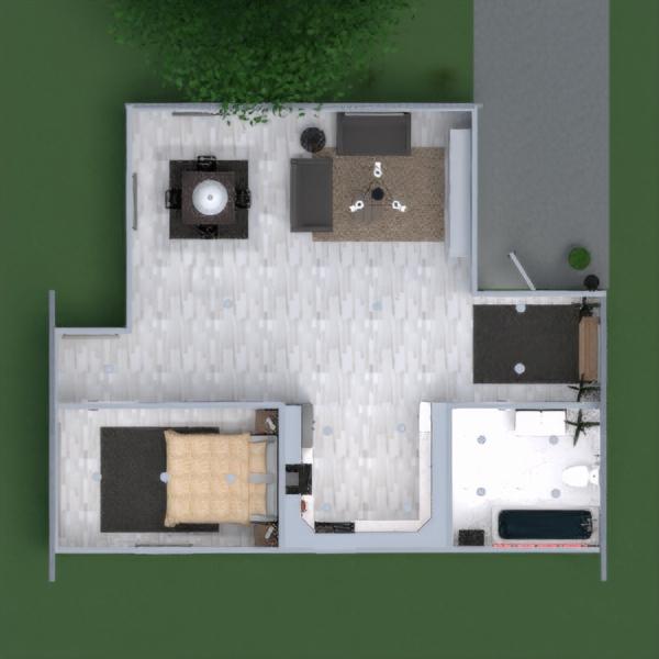 floorplans apartamento casa mobílias decoração casa de banho dormitório quarto cozinha iluminação reforma paisagismo utensílios domésticos sala de jantar arquitetura despensa patamar 3d
