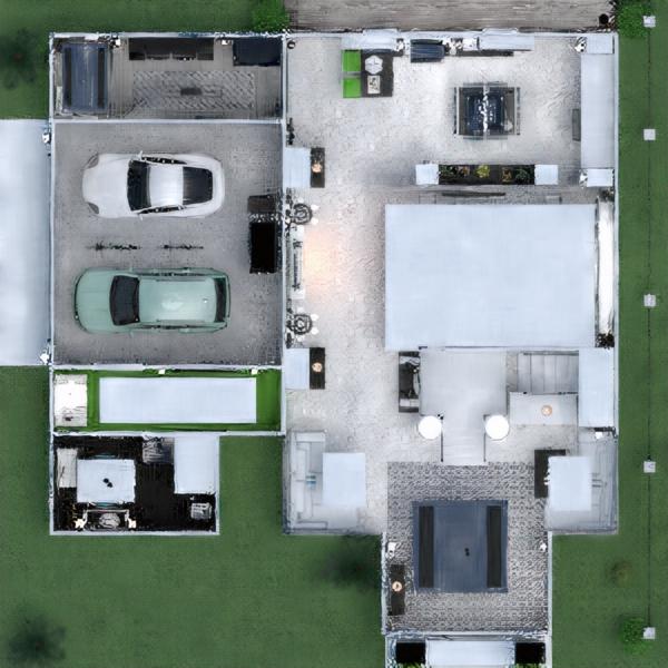 floorplans cozinha escritório sala de jantar arquitetura patamar 3d