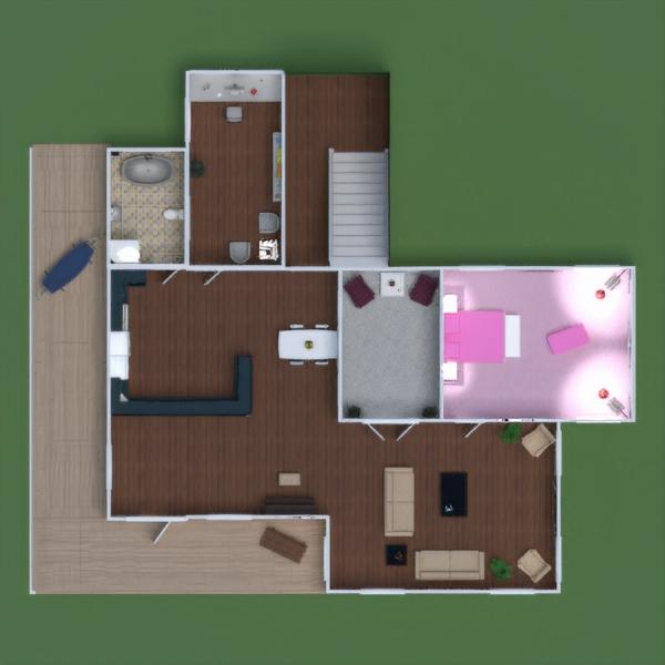 floorplans casa muebles decoración bricolaje cuarto de baño dormitorio salón cocina habitación infantil despacho iluminación hogar comedor arquitectura descansillo 3d