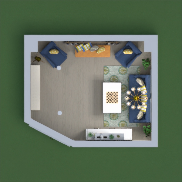 floorplans maison salon 3d