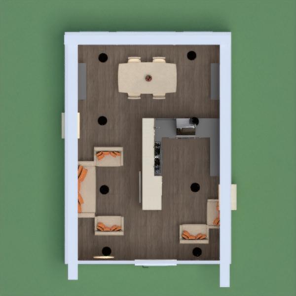 floorplans haus mobiliar dekor wohnzimmer küche beleuchtung esszimmer architektur lagerraum, abstellraum 3d