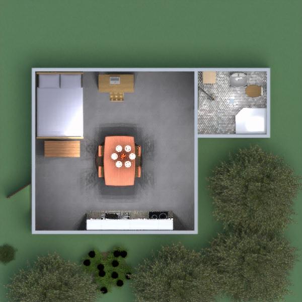 floorplans dom łazienka sypialnia 3d