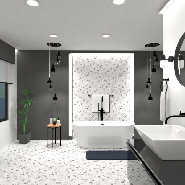 floorplans decor bathroom lighting storage 3d