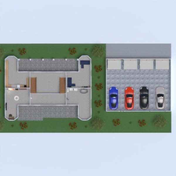 progetti casa camera da letto studio paesaggio vano scale 3d
