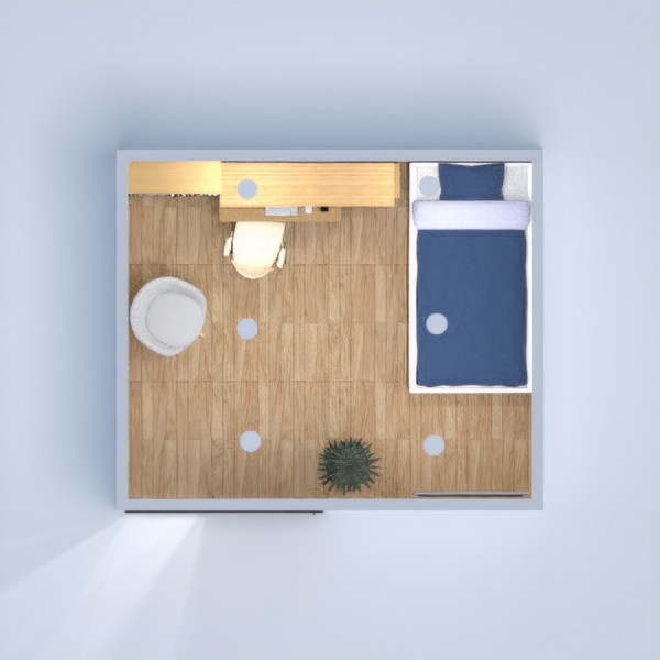 floorplans bedroom living room lighting architecture 3d
