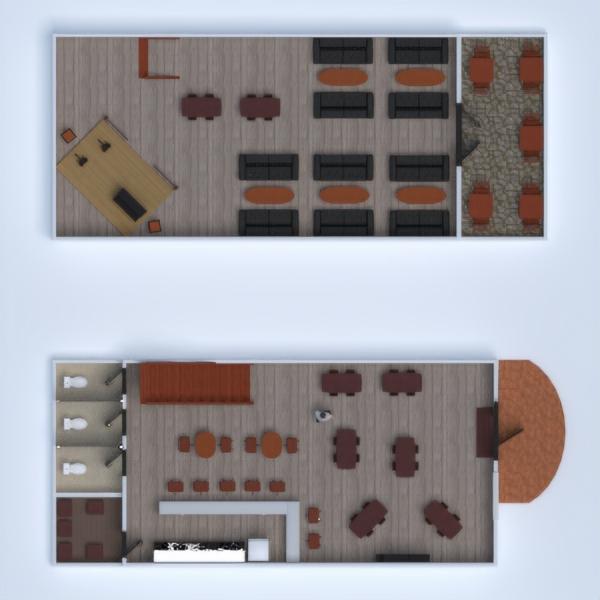 floorplans decorazioni caffetteria 3d