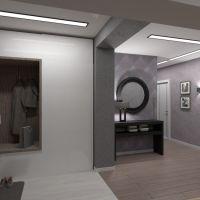 floorplans wohnung haus lagerraum, abstellraum studio eingang 3d
