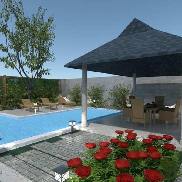 floorplans haus terrasse mobiliar dekor outdoor 3d