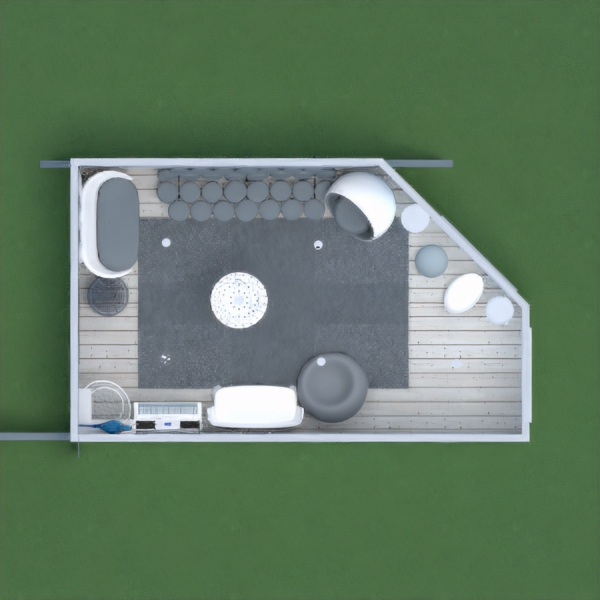 floorplans mobiliar dekor wohnzimmer beleuchtung 3d
