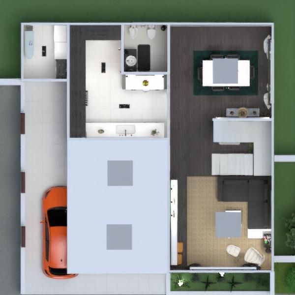 floorplans taras meble wystrój wnętrz łazienka pokój dzienny garaż kuchnia na zewnątrz oświetlenie krajobraz gospodarstwo domowe jadalnia architektura wejście 3d