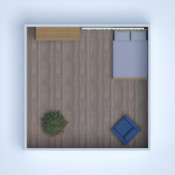 планировки спальня 3d