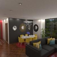 floorplans apartamento casa cuarto de baño dormitorio salón exterior habitación infantil 3d