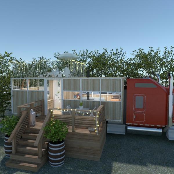 progetti casa veranda angolo fai-da-te paesaggio architettura 3d