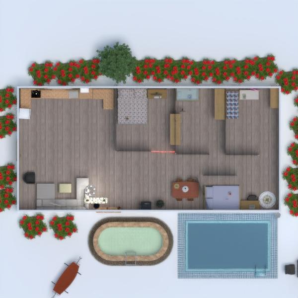 floorplans meble wystrój wnętrz zrób to sam pokój diecięcy mieszkanie typu studio 3d