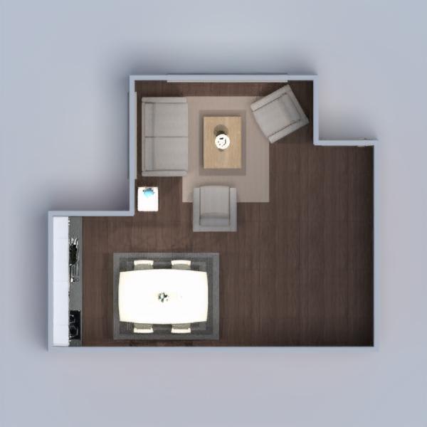 floorplans casa arredamento saggiorno cucina illuminazione sala pranzo architettura 3d